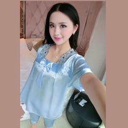 Wholesale Hot Sexy Skirt Set - Bow Girl Lingerie Pajamas Women Nightwear Set Lingerie Sexy Hot Clothing Set Pajamas Sleep skirt
