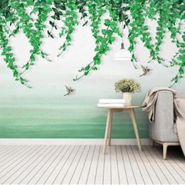 Hochwertig Tapete Wandmalerei 3d Natur Rabatt 3D Natur Landschaft Tapeten  Benutzerdefinierte Fototapeten Fototapeten Wohnkultur Tapeten Für Wohnzimmer