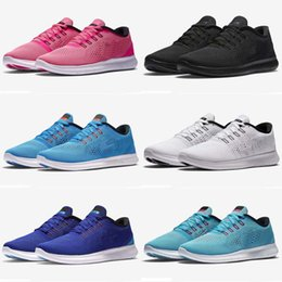 Wholesale Cheap Ladies Sneakers - Fashion New Men Women Free Running Sports Shoes Cheap Ladies Free RN Running Shoes Cool Sneaker Breathable Outdoor Shoes Size 36-45