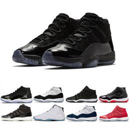 low priced bb32d d4a26 11 Kappe und Kleid Prom Night 11s Männer Frauen Basketball Schuhe Gym Red  Space Marmelade Concord PRM Heiress gezüchtet Legende blau Sports Sneaker  günstig ...