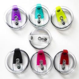 Canada Couvercles de preuve de déversement pour Thermos Drinkware Acce étanche 7 couleurs ABS Bouteilles de bouteilles d'eau en stock cheap abs lid Offre