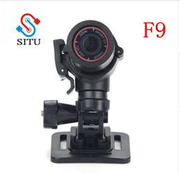filmadoras para acções desportivas Desconto NOVA F9 FULL HD 1080 P 3MP AIV Pequeno Alumínio Esporte Ação Capacete Câmera DV DVR Esporte CAM extreme sport Camcorder