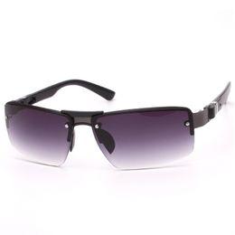 Wholesale polarized ski sunglasses - Novelty Fashion Men Frameless Originality Toad Copy Sheet Sunglasses Driving Skiing Beach Outdoor Glasses Spring Summer Style 3 5fl ff
