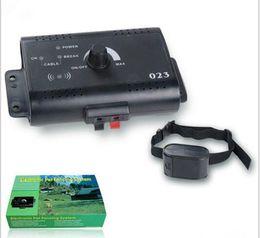 Hundehalsband online-Elektronisches Haustier-Fechtsystem-Hundetraining-Kragen-Fernsteuerungshundeelektronischer Zaun-intelligenter Hundetrainer-Kragen-freies Verschiffen