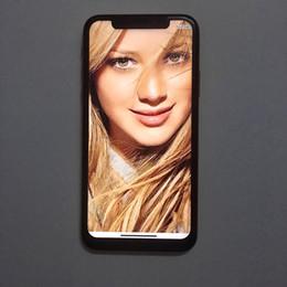 Teléfonos android tv 3g teléfonos online-Envío de DHL Pantalla completa 5.8 pulgadas XS android 7.0 teléfono inteligente Quad Core MTK6580 1 GB de RAM 8 GB de ROM 960 * 540 3G WCDMA desbloqueado teléfonos celulares