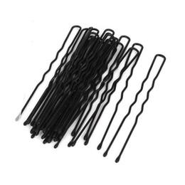 2019 bobby livre Grampos de cabelo de verão Lote 500 pcs Cabelo Acenado Em Forma de U Bobby Pin Barrette Salon Aperto Clipe Pin Acessórios Frete Grátis desconto bobby livre