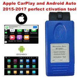 2019 programador silca sbb Apple CarPlay e Android Auto ferramenta de ativação para Mercedes-Benz NTG5 S1 maneira mais segura de usar o seu iPhone / Android Phone no carro