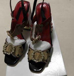 Wholesale paris crystal - summer shoes women sexy high heel sandals designer Crystal heel heel shoes women luxury flower paris supper model walk show