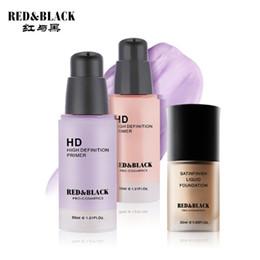 Argentina Kit de herramientas de maquillaje RedBlack Cosméticos 2PCS que incluyen HD Conjunto de cosméticos de maquillaje de cara de base de maquillaje de alta definición Suministro