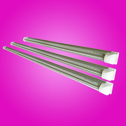 Wholesale led lamp shades - T8 Led Tube 4ft V-Shade Integrated Fluorescent Led Light 1200mm 36W Super Bright 270 Degree Beam Angle Lamp Top Sales