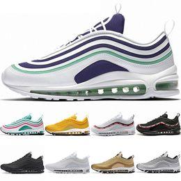 sale retailer 7e9bb 73192 Nike Air Max 97 Airmax the details page for more logo Pas cher 270  Chaussures De Course Hommes Femmes 270s Betrue Hot Punch Oreo Triple Noir  Blanc Volt ...