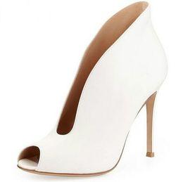 Глубокие насосы онлайн-Zapatos Mujer Deep V Дизайнер Женщины Насосы Повседневная Уличный Стиль Туфли На Высоких Каблуках Туфли Тонкие Каблуки Женская Обувь
