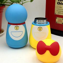 chá japonês canecas Desconto Anime japonês Doraemon Aço Inoxidável Vacuum Thermos Cup Dupla Isolamento Dos Desenhos Animados de Café Xícara de Chá Canecas de Garrafas Copos para Crianças