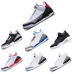 newest 79717 95b74 Nike Air Jordan Retro 3 3s preiswerte Hydrogroßverkauf-neue freie  Wurf-Linie platzte Kleber Basketball-Schuh-Turnschuh-Mens-Schuh-erstklassige  Qualität ...