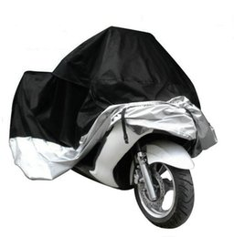 Wholesale Motorcycles Rain - Motorcycle Hood Polyester Taffeta Electric Car Rain Proof Cover With Windproof Buckle Design High Density Outdoor Supplies 38 5rh B