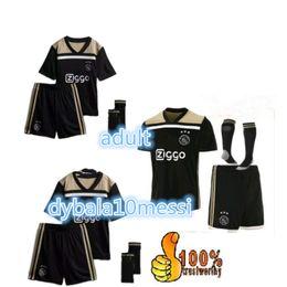 Wholesale cheap uniforms soccer jerseys - Cheap New Ajax Black Football Shirt 18 19 Ajax Soccer Jersey Shirt 2019 Customized KLAASSEN NOURI Football Uniform Free Logistics