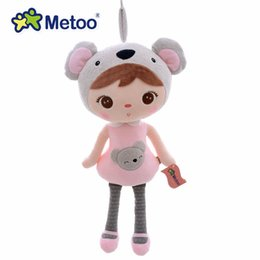 Wholesale Baby Koalas - New Arrival Original Metoo Lucky Dolls Pink Koala Plush Kids Baby Dolls Toy 16'' Brand New Free Shipping #LN