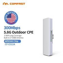 wifi repeaters NZ - 3KM WISP Long Range Outdoor CPE WIFI Router 5.8GHz Wireless AP WIFI Repeater Access Point WIFI Extender Bridge Client Router