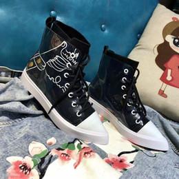 I migliori scarponi casual di marca scarpe di lusso autunno slittamento  sulla caviglia con strass stivali sneakers donna piatta scarpe casual 0e6d6c199c9