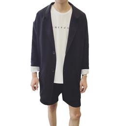 koreanische graue männer langer mantel Rabatt Streetwear koreanische Männer Mantel Graben grau lässig große Revers Mantel Herren lange Jacken Casaco Masculino Herren Vintage Windbreaker C5