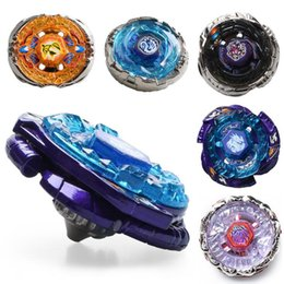 Wholesale toys wholesale usa - New Arrive!! Mix 24pcs lot 4D Metal Beyblade Brazil USA Hot Sale Toys Flight Big Bang Beyblade