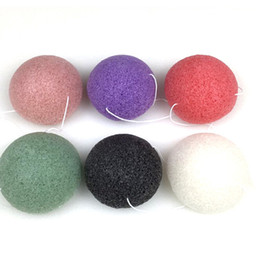 Wholesale natural body cleanse - Konjac Sponge Puff Herbal Facial Sponges Pure Natural Konjac Vegetable Fiber Making Cleansing Tools For Face And Body DHL Shipping 0601090