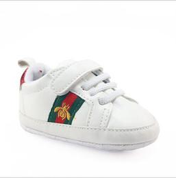 Bebe Baby Jungen Mädchen Weiche Sohle Krippe Schuhe Pu-leder rutschfeste Schuhe Kleinkind Turnschuhe 0--18 Mt Kinder Schuhe von Fabrikanten