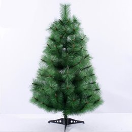 needle tree Promo Codes - 0.6m   60cm pine needles Christmas tree New Year gifts Christmas home office desktop decorations