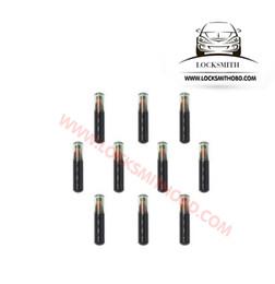 Wholesale ID4D60 T7 viruta de vidrio en blanco para la herramienta auto del cerrajero del vado y la llave del coche