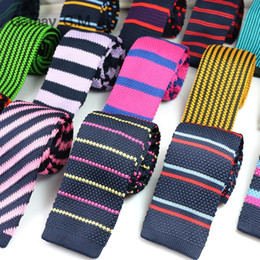 2019 узкая ширина ленты Fashion Mens Knit Ties Colorful New 6cm Narrow Width Knitted Skinny Neckties For Party Wedding Male Neckwear Tie Cravat дешево узкая ширина ленты