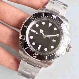 2018 Fashion Ghost King Correa de acero inoxidable Reloj de cerámica Máquina automática Núcleo Cristal de zafiro Impermeable Natación Diver Watch desde fabricantes