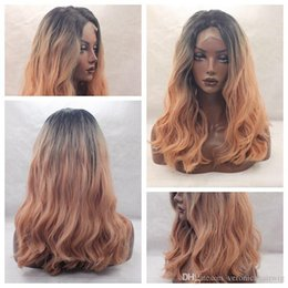 Discount Long Bob Ombre Blonde Ombre Long Bob Lace Fronts 2019 On