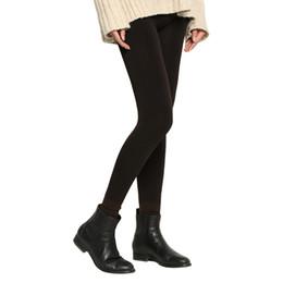 Wholesale Super Thick Girls - 2017 Winter New plus cashmere fashion leggings women girls Warm Winter Bright Velvet Knitted Thick Legging Super Elastic Pants