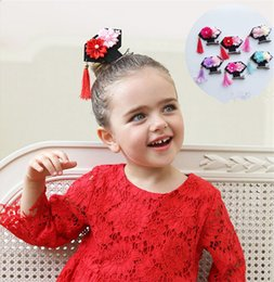 Wholesale Exotic Fashion - Fashion new princess hairpin Hair Clips popular new exotic fringe jewelry European and American children's Headband Hair Accessories 0205027