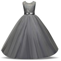 enfant et filles chaudes jupe robe sans manches mariage fille de fleur robe dentelle de fil Nouveau style ? partir de fabricateur