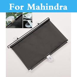 Wholesale Mahindra Cars - Auto Sun Visor Car Window Suction Cup Car Curtain Sun Shade Covers For Mahindra Armada Bolero Commander Marshal Scorpio Verito