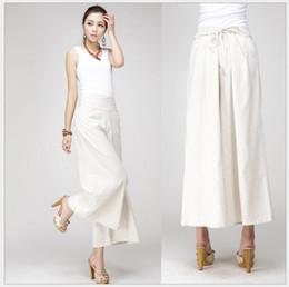 pantalones largos faldas moda Rebajas Señoras libres del envío de la manera bragas llanas del color del caramelo de las mujeres faldas del color hermoso de la marina de guerra roja nueva larga al por menor al por mayor