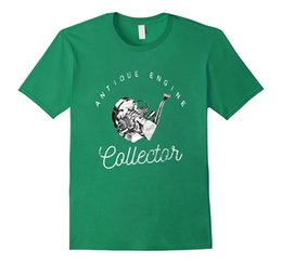 Wholesale Green Engines - Antique Engine Collector T-Shirt