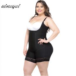 0877b63d4e3 Butt Lift Shapers Sculpting Body Shaper Fat Control Shapewear Full Body  Bodysuits Women Plus Size Underwear Slimming Shapewear