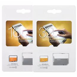 Wholesale 8gb Memory - EVO 8GB 16GB 32GB Micro SD Card Real Capacity C10 Class 10 EVO UHS-I Micro SD HC UHS-I U1 TF Memory Card