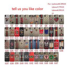 1 PCS Pour iphone 8 cas de téléphone Motif classique motif de téléphone de broderie pour iphone 6/7 / X cas de protection mobile ? partir de fabricateur