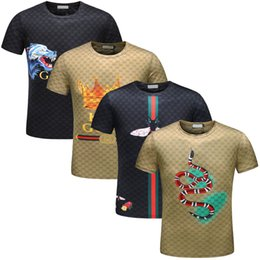 Wholesale shirts men washing - 2018 Brand New Fashion Men tshirt short Sleeve Slim Fit Men's t shirt Casual t shirts Hipster tees Tops