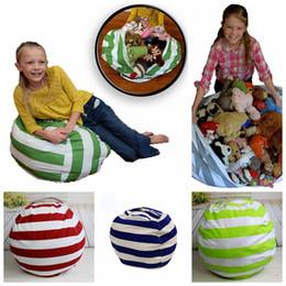 Sensational 18 Inch Kids Storage Bean Bags Plush Toys Beanbag Chair Bedroom Stuffed Animal Room Mats Portable Clothes Storage Bag 10Pcs Ooa4433 Evergreenethics Interior Chair Design Evergreenethicsorg