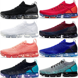 casual walking running shoes Coupons - 2018 Running Shoes For Men Casual Women Fashion Athletic Classic Corss Hiking Jogging Walking Black Blue Red Cushion Sneakers Designer Shoes