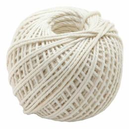 70m Cotton Rustikale Tags Wrap Hochzeit Dekoration Handwerk Verdrehte Seil String Cord Events Party Supplies von Fabrikanten