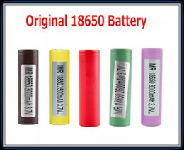 Original 18650 Battery HG2 INR18650 30Q 3000MAH HE2 HE4 INR 25R 2500mah Genuine Rechargeable Batteries Using 100% Authentic In Stock