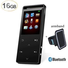 2019 ebook mp3 player Lecteur MP3 Bluetooth 201G Sports 16G 16G avec écran tactile, lecteur de musique avec radio FM, ebook, prise en charge jusqu'à 64 Go promotion ebook mp3 player