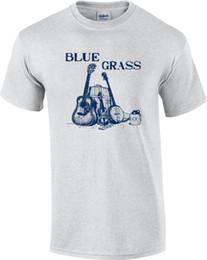 2019 banjo de guitarra TALL Blue Grass Music Guitar Banjo Fiddle camiseta banjo de guitarra baratos
