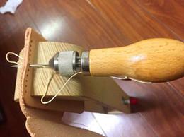 herramientas de cuero para la venta Rebajas Profesional DIY Speedy Stitcher Kit de herramienta de punzón de costura para la vela de cuero Lona Reparación pesada Venta caliente