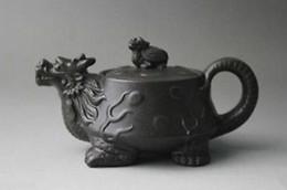 Wholesale Yixing Clay Teapots - Chinese Yixing purple clay teapot Zhini Turtle Dragon zisha teapot